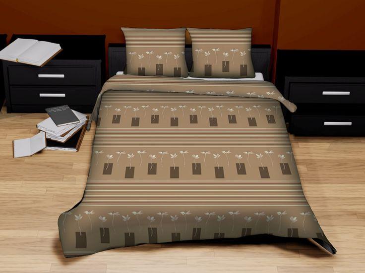 Pościel satynowa Valentini Bianco CADIZ, 160x200 + 2x 70x80 cm, 100% bawełna.