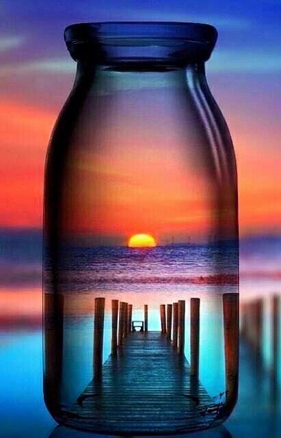 My personal message in a bottle, straight from some beach, somewhere! – Jana Bergener