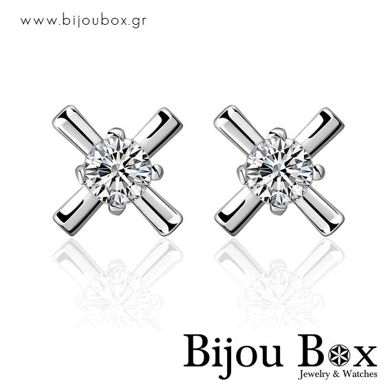 Stud earrings silver plated CROSS Σκουλαρίκια επάργυρα CROSS Check out now... www.bijoubox.gr #BijouBox #Earrings #Σκουλαρίκια #Handmade #Χειροποίητο #Greece #Ελλάδα #Greek #Κοσμήματα #MadeinGreece #OnlyLove #Silver #Luxus #Passion #jwlr #Jewelry #Fashion #Christmas #Gift