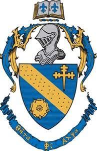 Theta Phi Alpha crest