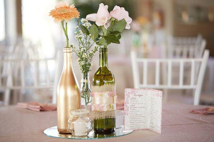 casamento rustico - decoração mesa