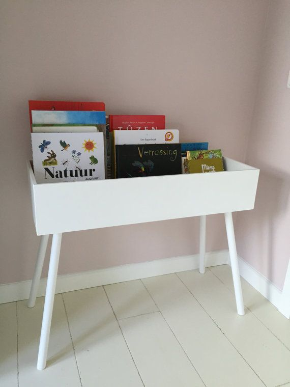 Kids room storage books Kids book storage by ByAagje on Etsy