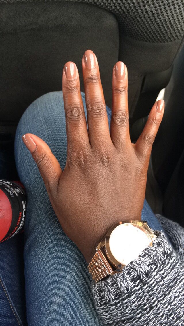 This is a bomb ass nude for my dark skinned people. It's called 2 of a Kind from Revlon!!