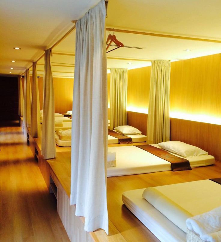 Thai Massage Room at Let's Relax Spa Bangkok Thailand (Let's Relax's 11th Branch - Ekkamai)