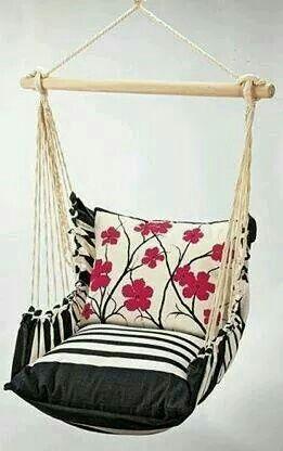 Indoor hammock swing chair