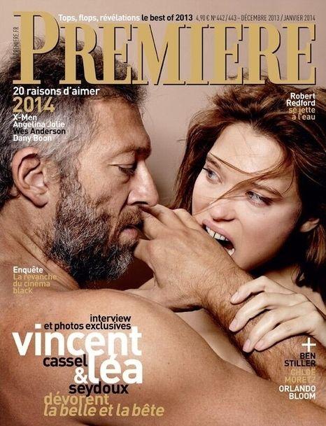Vincent Cassel / Léa Seydoux - Première December 2013