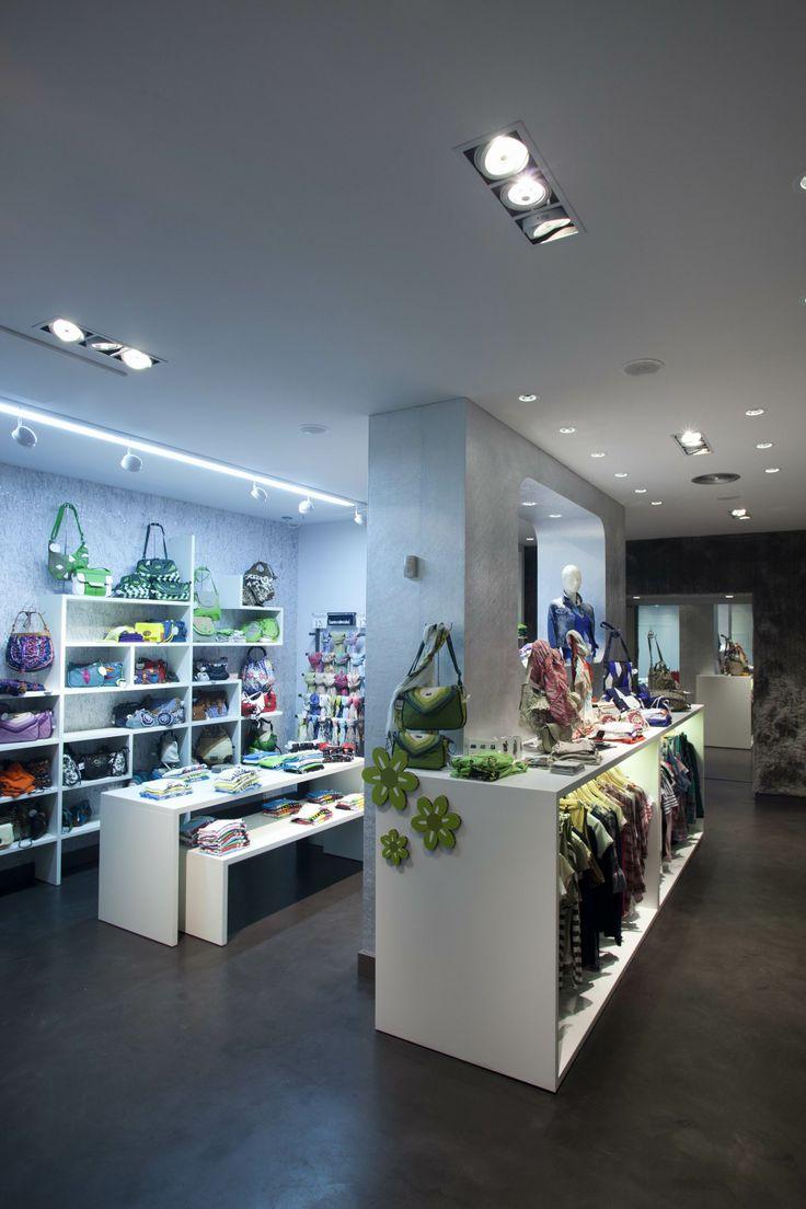 Proyecto #iluminacion tienda de moda.