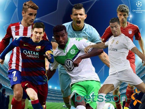 Champions League: conoce cuánto paga Betson en los partidos de cuartos de final. April 04, 2016.