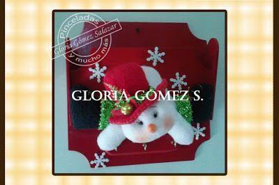manualidades navidad 2015 | Pinceladas y mucho más