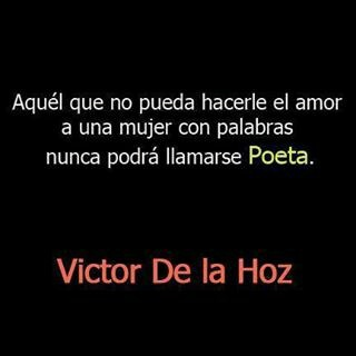Victor de la Hoz: Other, Amor Con, Victor De, To La, Sentences, Of The, Word, El Amor, With Word
