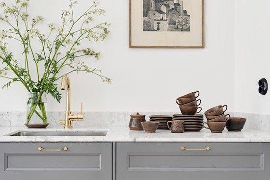 Prachtige Keuken In Donkere Houtkle : ... over Keuken op Pinterest ...