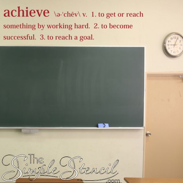 Quotes Working Hard Achieve Goals: 40 Best Images About Inspirational Wall Quotes On Pinterest