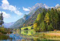 Puzzle Útočiště pod Alpami 3000 dílků