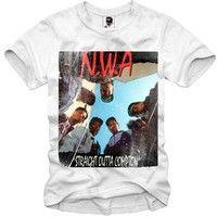 Wish | Vintage Nwa Public Enemy Run Dmc Eazy E Dr. Dre Rap Men's T-shirt
