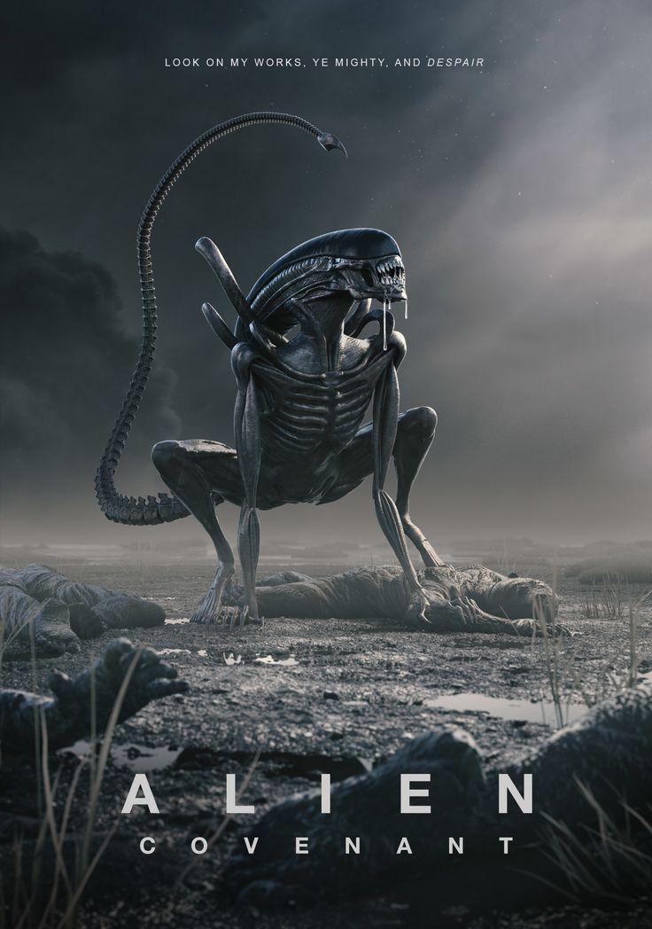 ArtStation - Alien Covenant Poster Competition, Peter Sandeman