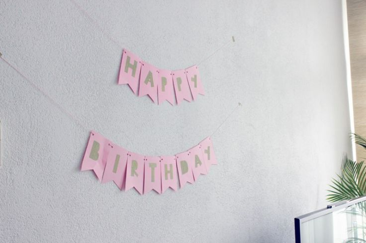 Happy Birthday slinger | DIY - ministijl