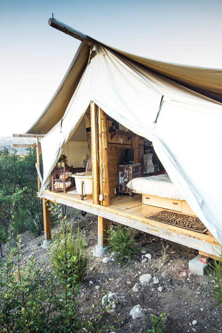 Lovely Safari Cabin Tent near Warner Springs, California