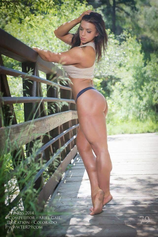 - WOMEN's muscular ATHLETIC LEGS especially CALVES - daily update!: Ariel Gail Calves Update
