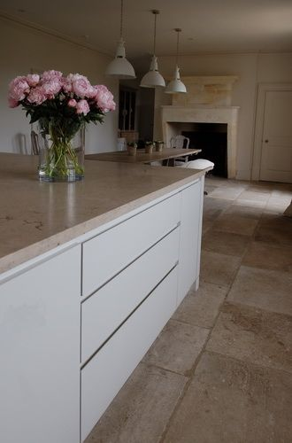 Sleek units without handles...Bespoke Kitchen Design Case Studies | Guild Anderson