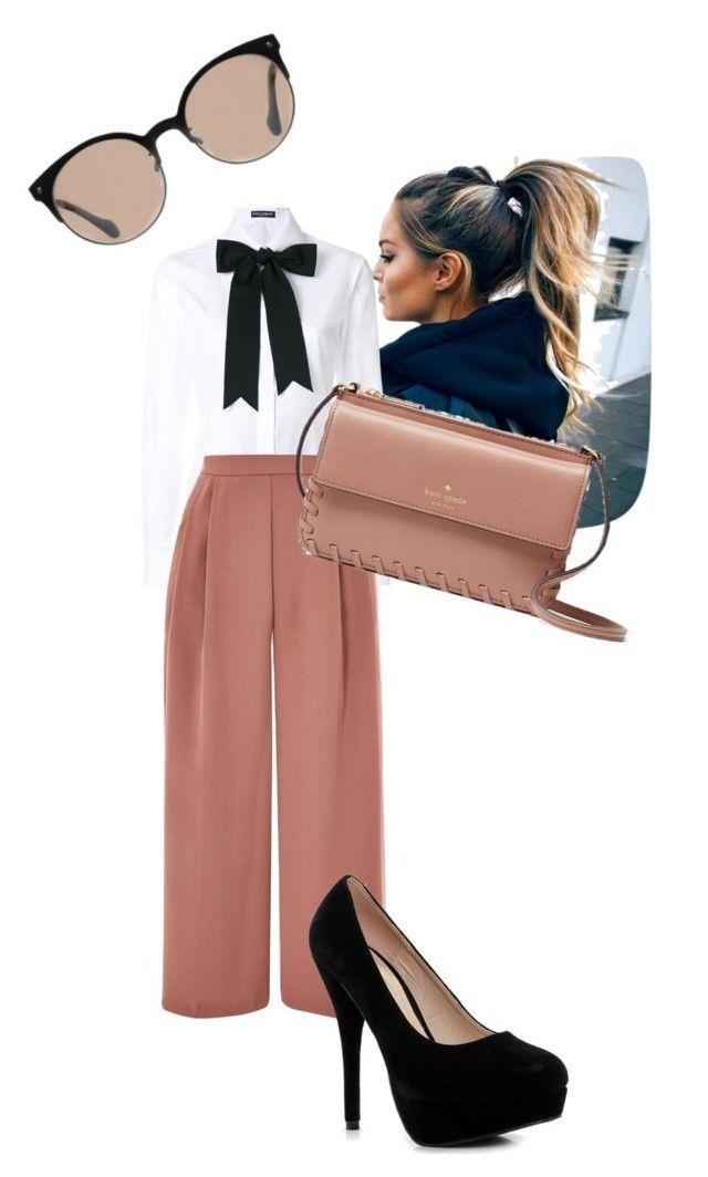 """""""Senza titolo #130"""" by mariapizzuto on Polyvore featuring moda, Dolce&Gabbana, Topshop, Boohoo, Kate Spade e Balenciaga"""