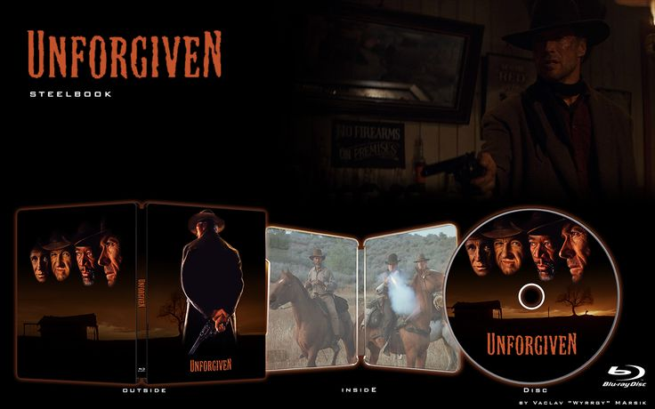 UNFORGIVEN - STEELBOOK -  Fan art