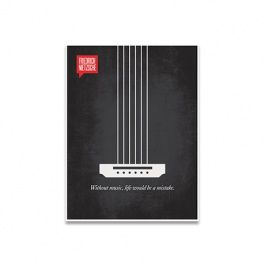 Nietzsche Music Poster