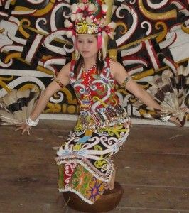 Tari Gong, a dance from East Borneo