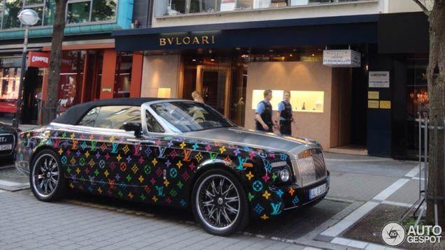 Alle kleuren van de regenboog: Rolls-Royce Phantom Drophead Coupé