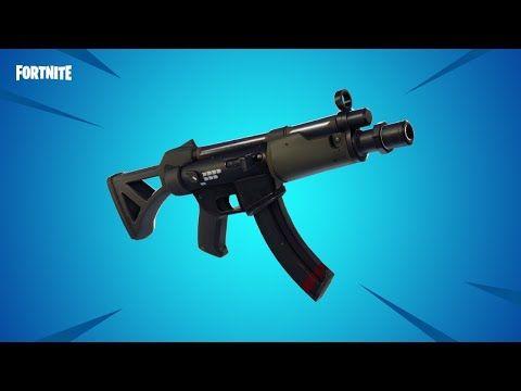 Fortnite New Smg Mp5 Gameplay Tech News And Gadget Videos Guns