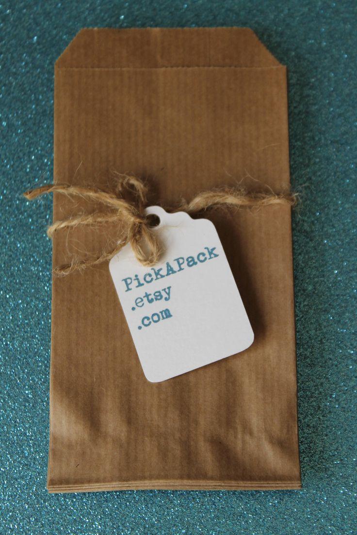 20 sacchetti in carta kraft, Confettata matrimono, Wedding favor bags Gift bags, Bustine carta pane di PickaPack su Etsy