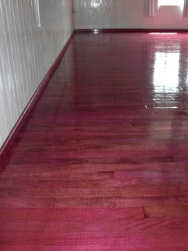Purple Heart Solid Wood Floor modern