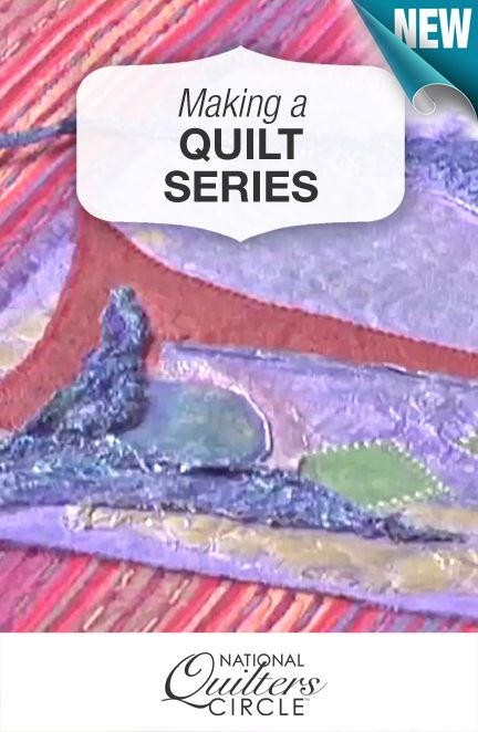 One of the best ways to become a better quilter and increase your skill set is to try working in a quilt series. http://www.nationalquilterscircle.com/video/creating-your-own-quilt-series-003990/?utm_source=pinterest&utm_medium=organic&utm_campaign=A219&vsoid=A219 #LetsQuilt