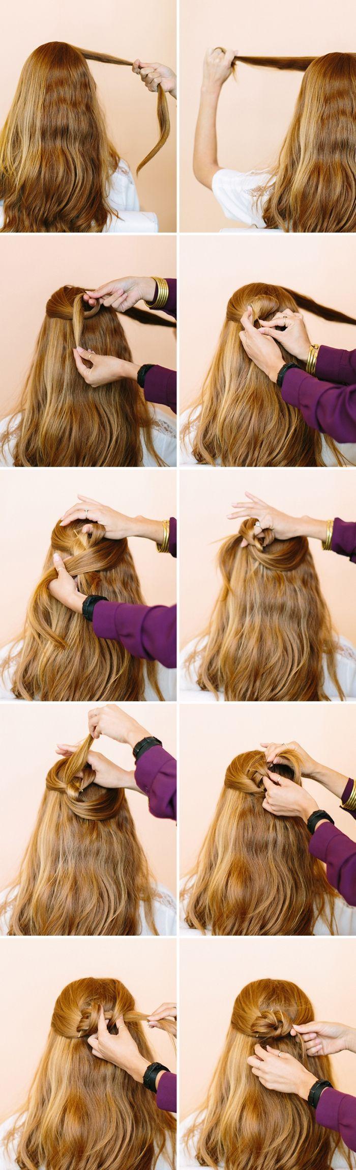 1001 Ideen für schöne Frisuren sowie Anleitungen zum Selbermachen von #Hochzeitsfrisuren