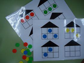 Hemos confeccionado otro juego para colocarlo en el Rincón de Matemáticas ... ¡¡Cuánto da de sí este rincón!! Es un juego cuyo objetivo es ...