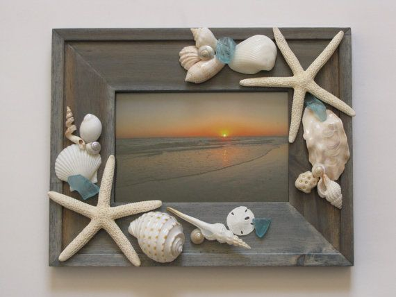 Hey, I found this really awesome Etsy listing at https://www.etsy.com/listing/250170201/seashell-photo-frame-shell-picture-frame