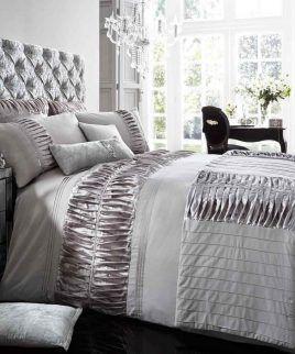 alina silver bedding set #LuxuryBeddingKing