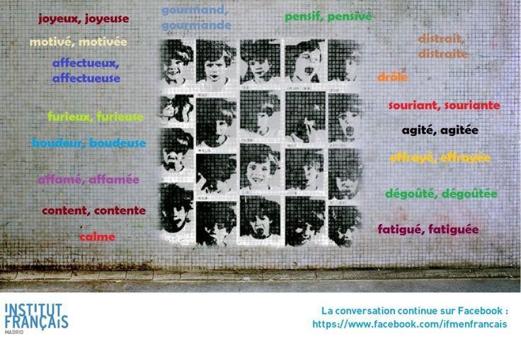 La conversation continue … Parler de ses émotions   Le blog des profs de l'Institut Français à Madrid