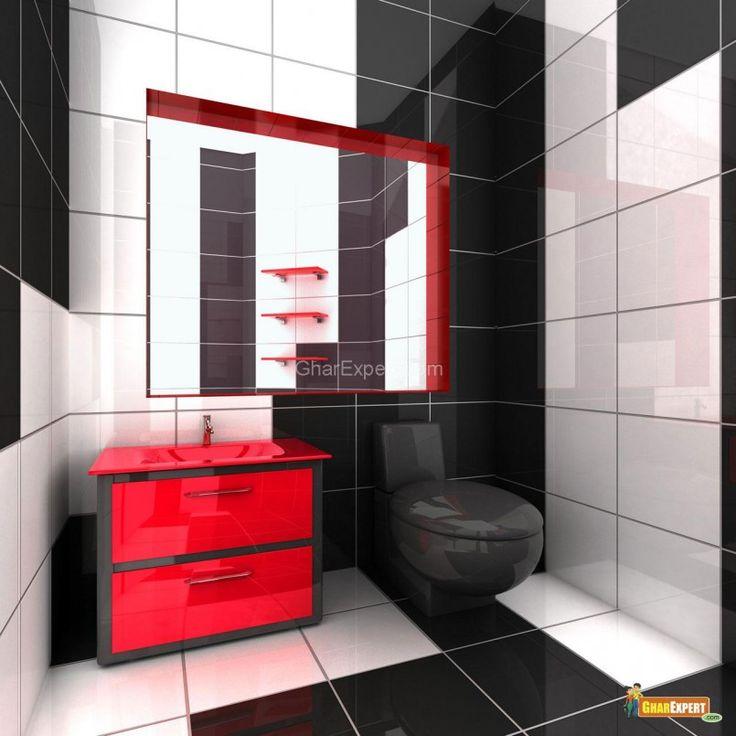 Photo On Bathroom Decorating Pinterest Red Bathroom Design Ideas Bathroom Vanities With Sink Tops x