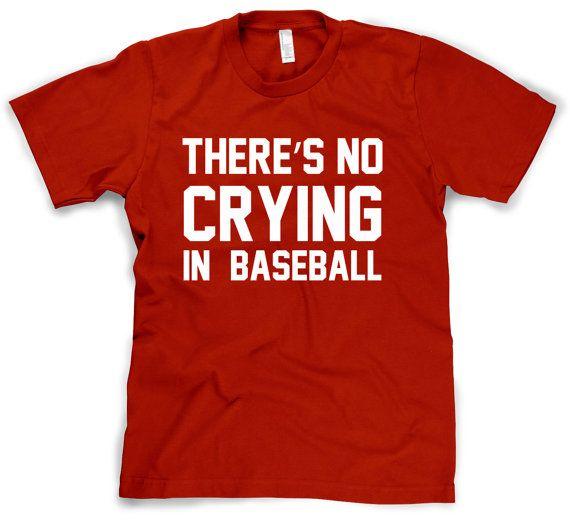 Baseball t shirt funny movie t shirt S3XL by CrazyDogTshirts, $14.99