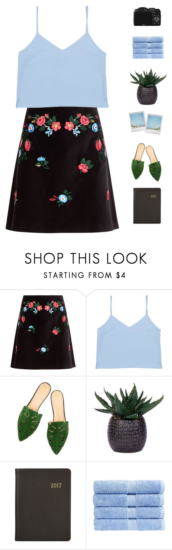 """""""Date night"""" by genesis129 ❤ liked on Polyvore featuring VIVETTA, Lux-Art Silks, Harrods, Polaroid, Christy, CO and vintage"""