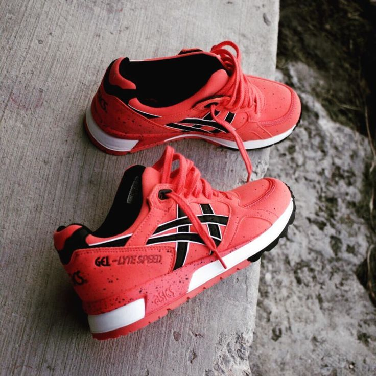 Asics Gel Lyte Speed Hot Coral | Sole Collector