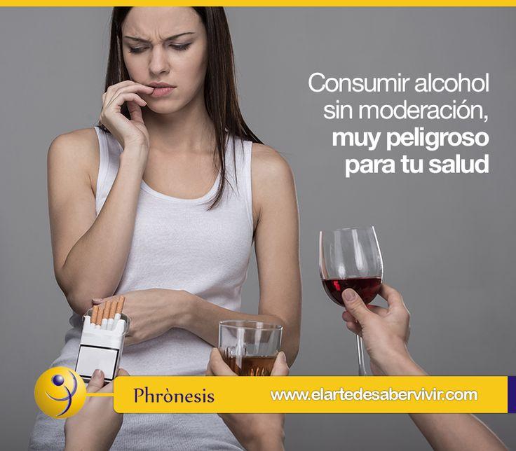 Consumir alcohol sin moderación, muy peligroso para tu salud 5 hábitos poco saludables www.elartedesabervivir.com ¿Cuál de estos 5 hábitos consideras más perjudicial para tu salud? Para que puedas disfrutar de tu vida plenamente, presta atención a estos hábitos que ponen en riesgo tu bienestar...Continúa leyendo aquí: http://tfl.vg/1g31