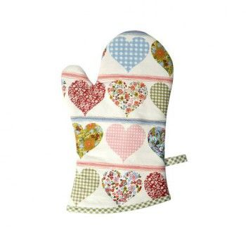 Rękawica kuchenna Dizy hearts marki Rushbrookes - Decorto
