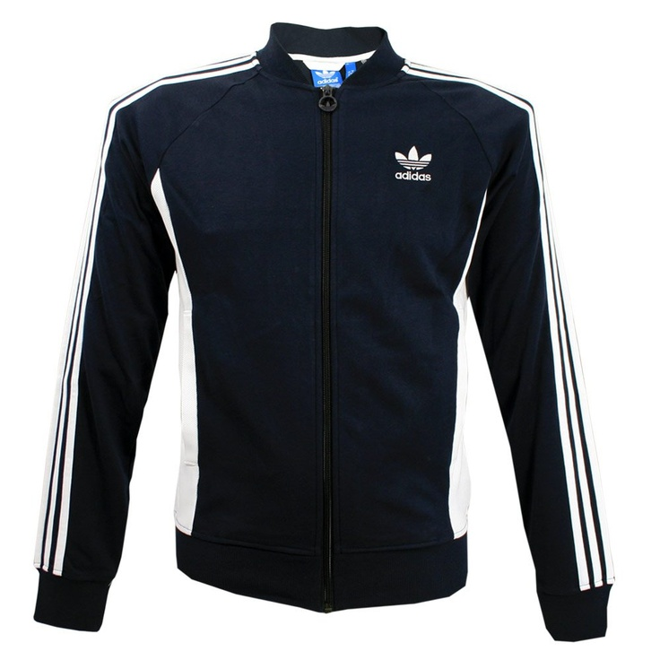 Adidas Originals Clothing Adidas Originals Court Superstar Jacket Legend Ink