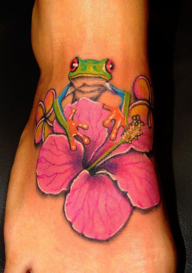 Share Tweet Pin Mail Frogs are great material for tattoo designs. Why is this you ask? In the world today there are over 4,800 ...