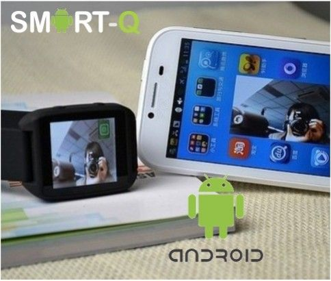 Android Smart-Q Watch – Access Your Smartphone On Your Wrist!