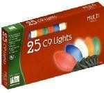 "Noma/Inliten-Import Hw25ct C9 Mult Cera Set 2924-88 Christmas Lights C9 by Noma/Inliten. $9.75. This multi-color light set features 25 ceramic C-9 lights with 12"" spacing and 25' length. Multi-color bulbs.. Save 19% Off!"