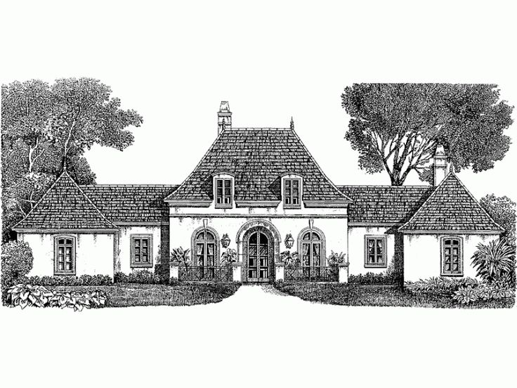 1 story 3230 square foot ready to build house plan from builderhouseplans french country house planseuropean