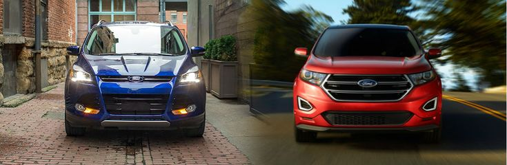 Although they have some similarities, there are also quite a few differences between the #Ford #Edge and Ford #Escape.