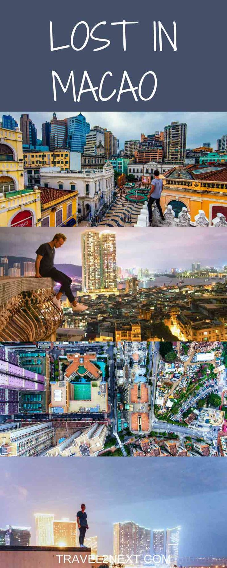 Lost in Macao - Wandering around Macao on foot is one of the best ways of exploring the city.